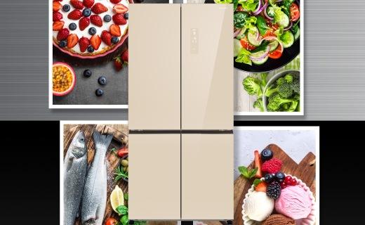 松下大十字冰箱发布:高效节能,五温区控温技术!