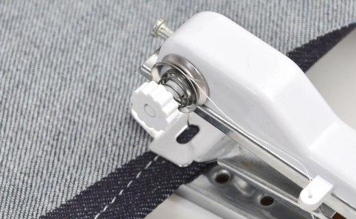 日本电商发布随身缝纫机,单手可控,5号电池供电