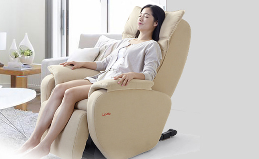 Litec多功能按摩椅:L型导轨全方位按摩,全身舒爽