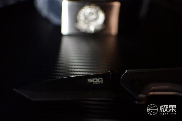 硬度HRC68黑科技折刀,为实操而生,SOGDTS65773上手体验