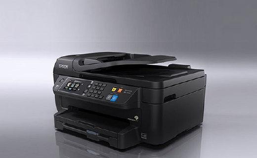 爱普生WF-2630打印机:复印扫描传真三合一,小体积紧凑设计