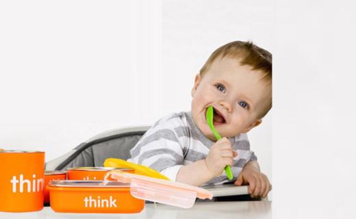 Thinkbaby儿童餐具套装:精选不锈钢材质,呵护宝宝健康饮食