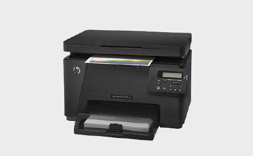 惠普M176n打印机:彩色激光二合一,在外旅行也能打印资料