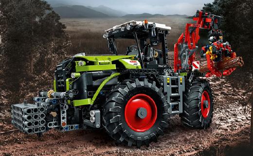 乐高最新机械组!超帅拖拉机,纯爷们的玩具!