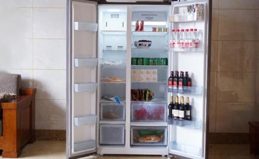 保鲜必备利器,超大容量 速冷速冻,美的智能冰箱体验