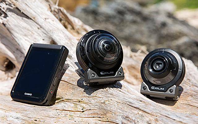 卡西欧(CASIO)EX-FR200全景相机