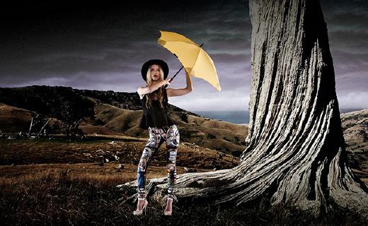 能抗12级大风的高能雨伞,还能防雷劈