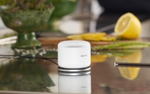 Sony BSP10蓝牙音箱:超轻300g,可无线充电,360°扬声器