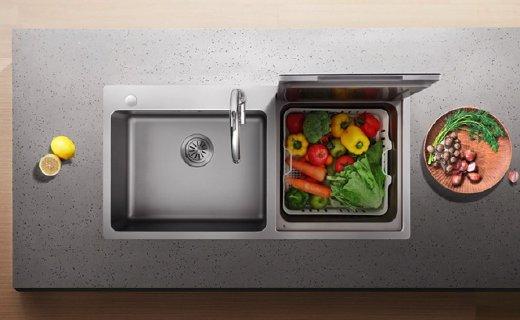 方太水槽洗碗机:嵌入式设计不占空间,洗完消毒一机搞定