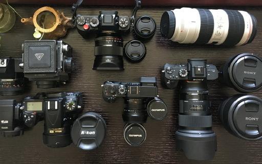 曬物 | 12年相機更替,一部從青年到中年的成長史