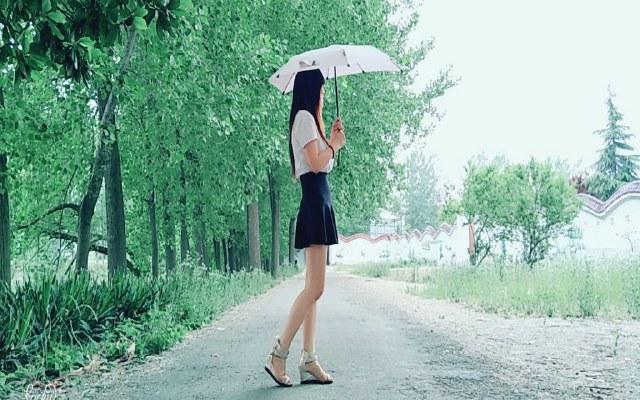 Senz雨伞,软妹子的出行必备神器(内附美女出游图)