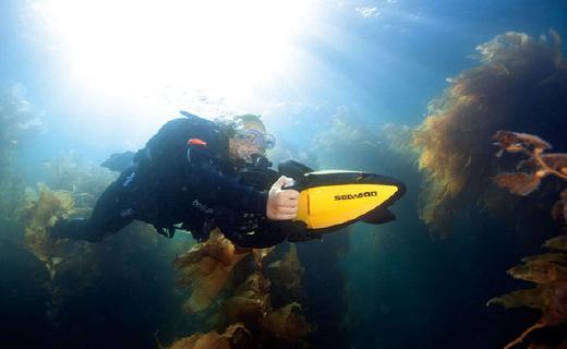 就让这个小巧高续航的Sea Doo潜水器带你遨游大海