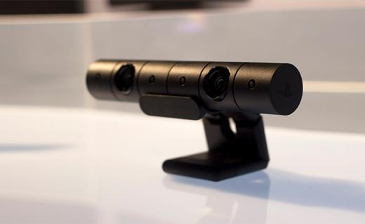 索尼PlayStation 4摄像头:支持游戏高清视频,四声道阵列式麦克风