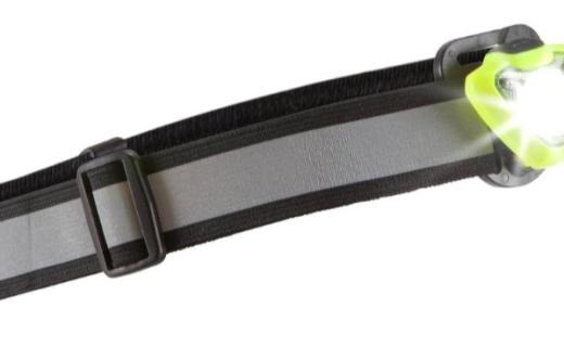 迪卡儂運動頭燈:分布式設計輕盈小巧,USB充電續航更持久