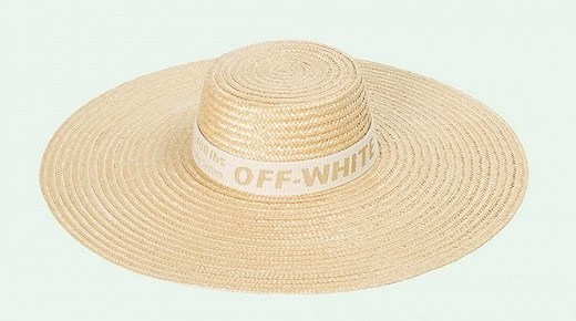 Off White推出宽檐草帽,出国度假时尚单品