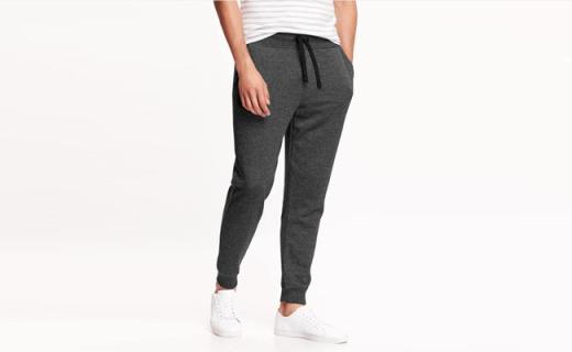 Old Navy收脚休闲裤:舒适保暖还显瘦,百搭款超好穿