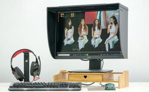 明基SW240显示器体验,色彩准确为摄影人士量身打造