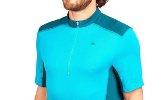 迪卡侬运动速干T恤:速干面料除湿排汗,弹性贴合运动更轻松
