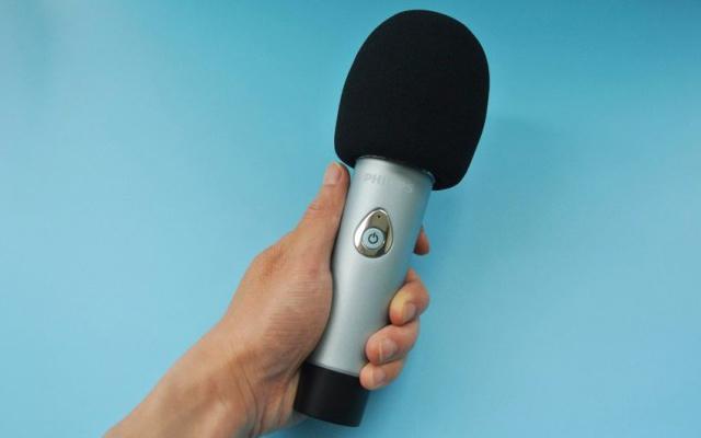 有了它,大白嗓也能当歌星,飞利浦 DLK38003麦克风测评 | 视频
