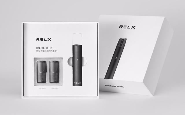 Relx悦刻换弹雾化烟