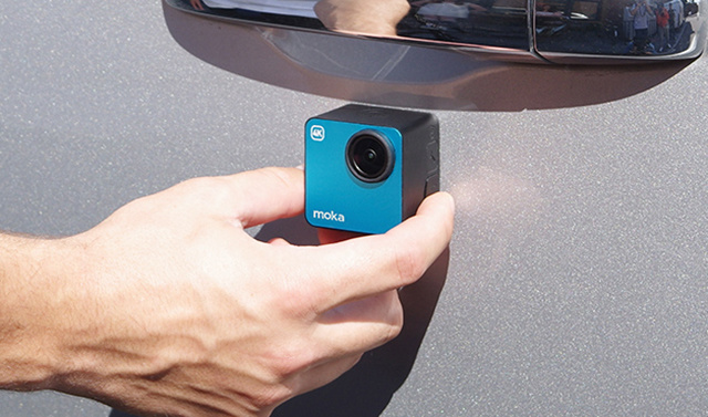 Mokacam 4k 运动相机 首发试用