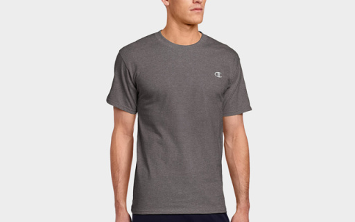 Champion Jersey短袖:柔软亲肤有弹力,速干排汗白菜价