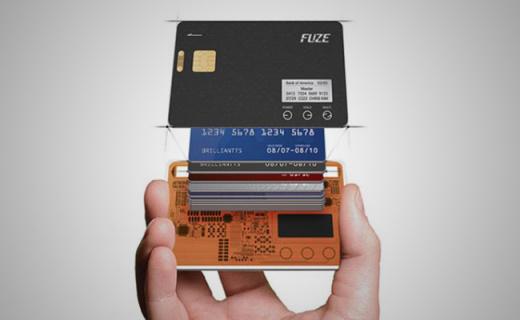 能存储30张银行卡的超薄智能卡,出门带它就够了