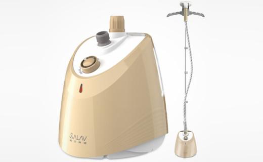 贝尔莱德挂烫机:一次可烫6件衣物,大蒸汽量瞬间熨平