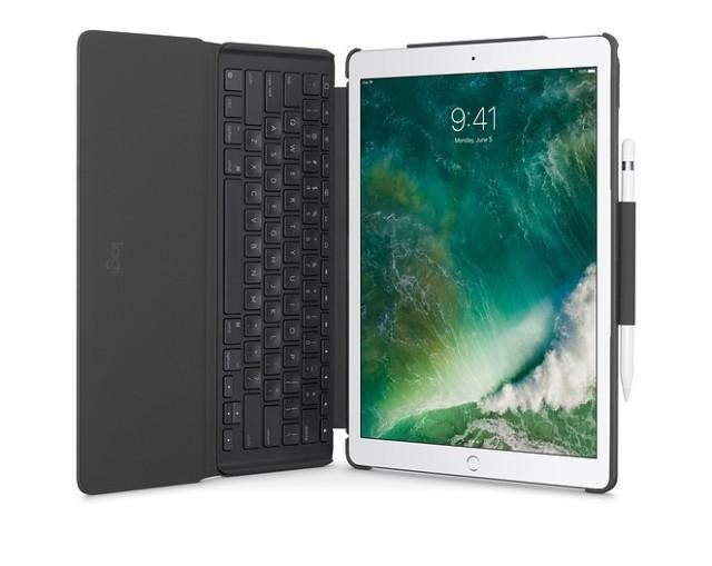 罗技SlimCombo保护套在苹果官网上线,可单独拆卸键盘!