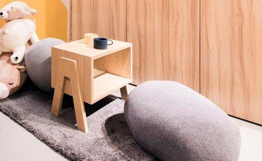 趋然鹅卵石沙发抱枕:多种搭配随意选,压久不变形