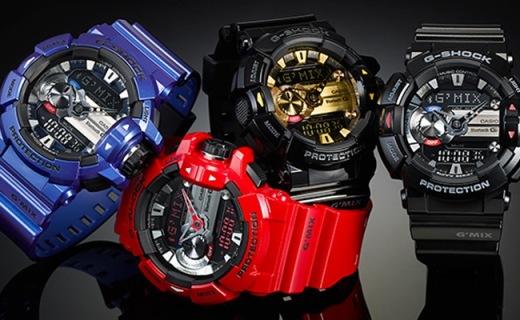 G-SHOCK蓝牙手表,200米防水还能控制音乐