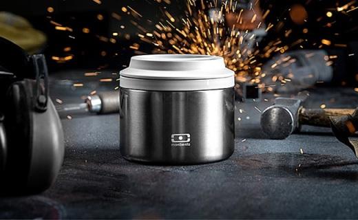 Monbento保温饭盒:真空断热6小时保温,可做焖烧罐使用