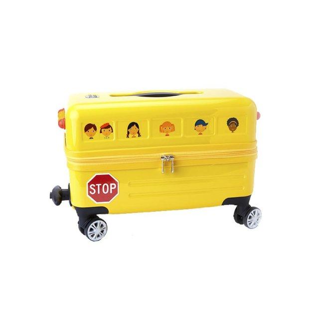 TravelBuddies黄色校车18寸拉杆箱