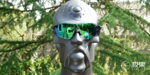 欧克利(Oakley)EVZeroPath翡翠绿镀膜太阳镜