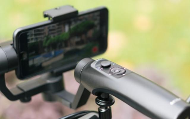 魔爪手机稳定器视频体验 ,自带多种buff的摄影大杀器