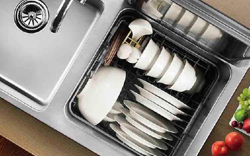 方太水槽洗碗机,洗碗轻松干净还能洗果蔬