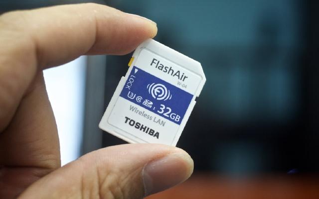 欢乐随享,无线感动你我——东芝FlashAir无线SD储存卡体验