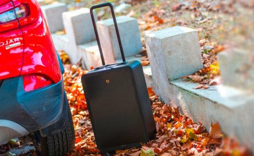 秋日邂逅紅與黑,TUPLUS途加鋁框行李箱體驗