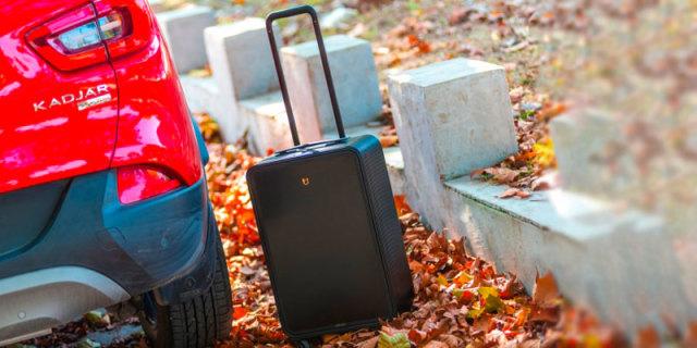 秋日邂逅红与黑,TUPLUS途加铝框行李箱体验