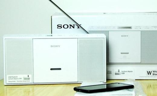 索尼 ZS-PE60便携式收音机:索大法出品,复古有情调