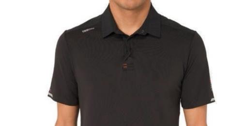 迪卡侬短袖POLO衫:透气面料快干排汗,弹性处理耐磨抗撕裂