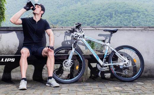 菲利普变速山地车:先进的变速系统,骑行不累超流畅