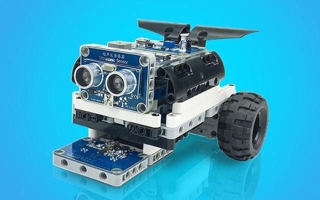 树上科技 ScratchPi 可编程电子积木机器人