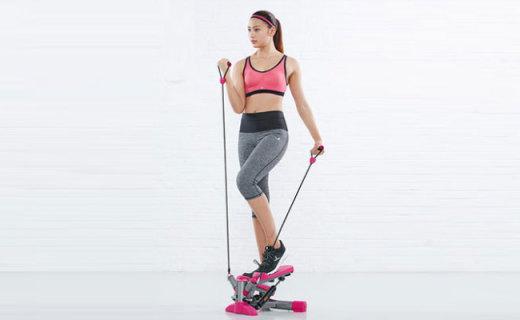 迪卡侬踏步机:不伤膝盖更安全,占地小无噪音减肥很容易