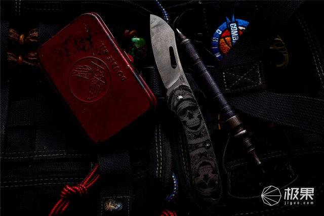 多场景使用的无锁定小折刀,CooYoo酷友弧光M1轻型口袋刀评测
