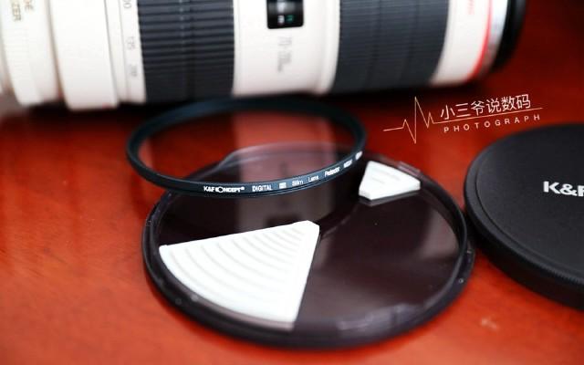 保護鏡頭,你需要K&F chao硬玻璃UV鏡