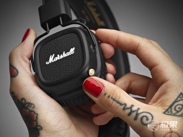 马歇尔(Marshall)蓝牙二代耳机