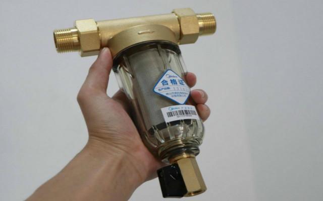 好好喝水,喝好的水,美的家用净水机前置过滤器体验测评
