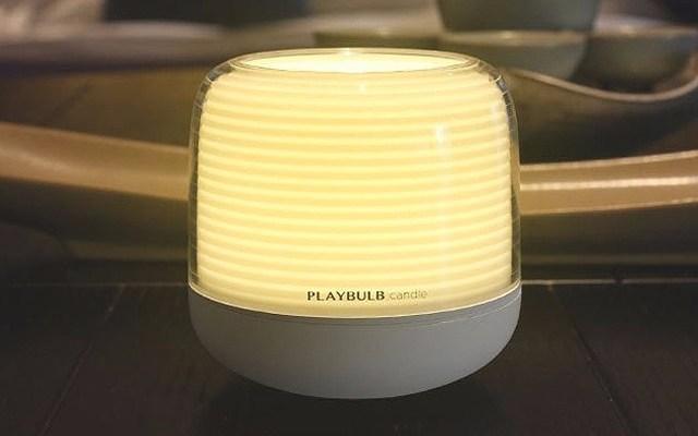 """能""""吹灭""""的智能灯,多种灯光摇摇手机就变色 — PLAYBULB candle智能灯体验"""