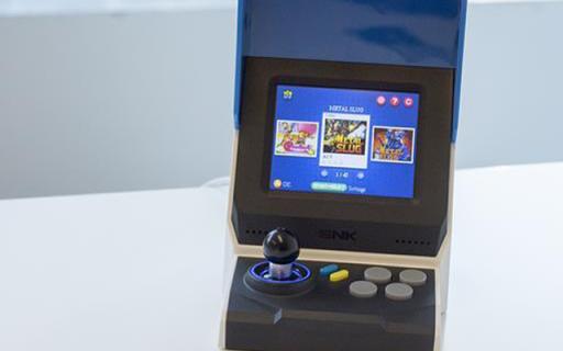 女朋友爱上玩游戏系列——SNK NEOGEO mini 掌机